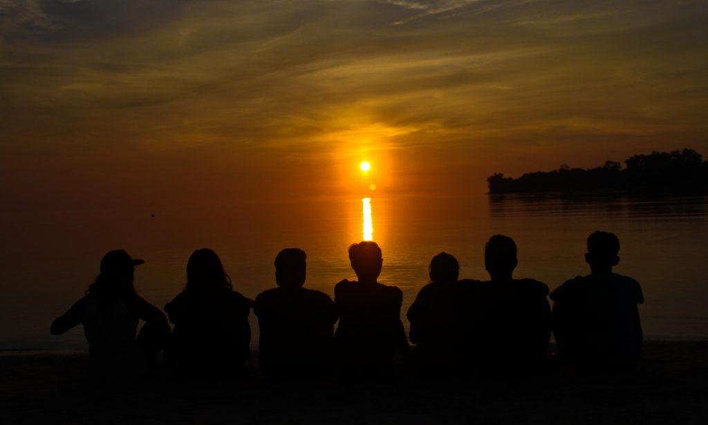 Sunset Pulau Yu (foto:jalanjalanmelulu)